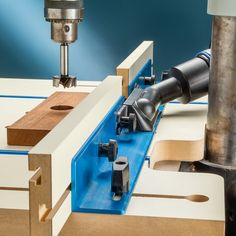 Dust Port for Drill Press Fence | Rockler Woodworking and Hardware