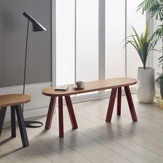 【受注生産】Nana bench NAN-BE120 ベンチ By Your Side, Office Desk, Bench, Chair, Table, Furniture, Home Decor, Instagram, Desk Office