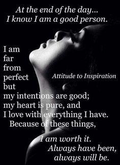 Attitude to inspiration