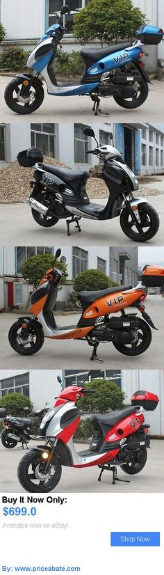motorcycles And scooters: New 150 Cc Gas Scooter Free Cargo Box BUY IT NOW ONLY: $699.0 #priceabatemotorcyclesAndscooters OR #priceabate