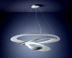 Pirce led suspension artemide luminaires pinterest led and