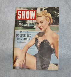 **SOLD!** Show Magazine Supermarket Tabloid May 1953 Girly Cheesecake Pinup.