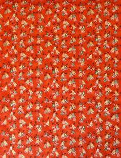 Clearance SALE Holiday Flourish 9~Poinsettias on Red~Christmas ... : red quilts clearance sale - Adamdwight.com