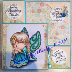 Modified tri fold. Image from C.C Designs Fairy Abigail.