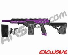 Dye Assault Matrix DAM Paintball Gun - Electric Purple