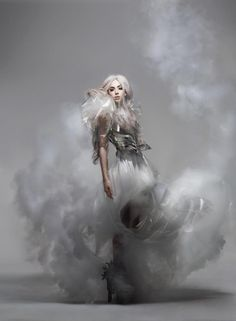 Lady Gaga photograph     Lady Gaga photographed by Nick Knight for Vanity Fair, September 2010.