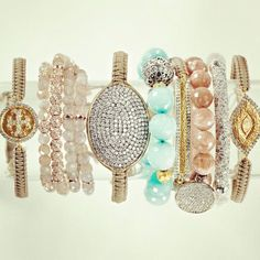 neimanmarcus:    Why stop at one? We think sparkle is so much better when you multiply it.