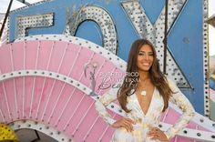 MISS UNIVERSE 2015 :: NEON MUSEUM, LAS VEGAS | Catalina Morales, Miss Puerto Rico 2015, takes part in a pre tape segment for the Miss Universe Telecast at theThe Neon Museum Las Vegas on Friday, December 11. #MissUniverse2015 #MissUniverso2015 #MissPuertoRico #MUPR #MUPR2015 #MissUniversePuertoRico #CatalinaMorales #CatalinaMoralesGomez #LasVegas #Nevada