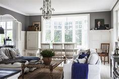 Marie`s house / Min lilla veranda Living Room Ideas Villa, Living Room Decor, Living Spaces, Living Rooms, Best Interior Design, Interior Design Living Room, Interior Decorating, Shabby, Feng Shui