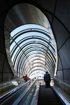 Bilbao Metro by Sir Norman Foster Norman Foster, Vacation Destinations, Vacation Spots, Guggenheim Bilbao, Paradise Places, U Bahn, Basque Country, Metro Station, Spain And Portugal