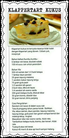 Discover recipes, home ideas, style inspiration and other ideas to try. Indonesian Desserts, Asian Desserts, Cookie Recipes, Snack Recipes, Dessert Recipes, Unique Recipes, Sweet Recipes, Resep Cake, Traditional Cakes
