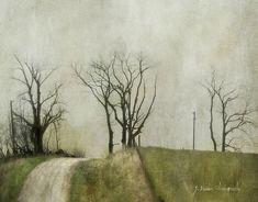 Unattended Longings… (by jamie heiden) Watercolor Landscape, Abstract Landscape, Landscape Paintings, Photo Texture, Texture Art, Texture Photography, Art Photography, Pretty Pictures, Some Pictures