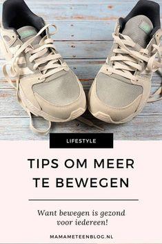 Tips om meer te bewegen, omdat bewegen gezond is. #gezondbewegen #bewegenmeer #hoemeerbewegen Healthy Mind, Fitness Fashion, Lifestyle, Dutch, Blog, Stress, Tips, Etsy, Dutch Language