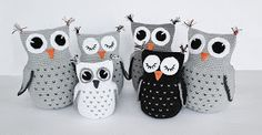 Create and Decorate: Patterns on Owls