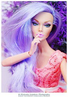 Mood Changers Purple | Outfit: Meg Fashion Doll | Michaela Unbehau Photography | Flickr