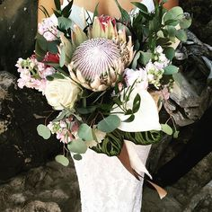 Hello lovely! --- #Bouquet #Wedding #Hawaii #Bride #Florals #HawaiiWedding #BlissInBloom
