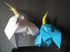 New model development process. Процесс разработки новой модели. #yumegami #yumegamishop #goat #paperart #papercraft #walldecor #trophyhead #paperdream #origami #3dorigami #paper #art #craft #goathead #diykit #diy #loveit #paperwork #papermodel #cardboard #etsy #Goathead #animal #weloveanimals #newhead #origami3D #colorgoat #color