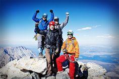 #Yakima social media team on the summit of the Grand Teton (13,770') on Saturday 9/15/2012. #takemorefriends #takemoreclimbers
