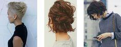 Znalezione obrazy dla zapytania stylizacje włosów krótki tył