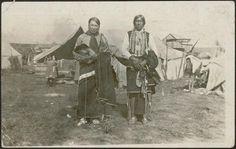 Pawnee men – 1915