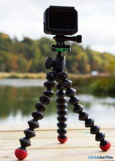 GoPro Hero5 Black Gorillapod tripod setup