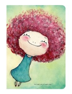 fun art project to do with kids. .. they'd like to do big hair. . I am imagining sharpie outline and watercolors