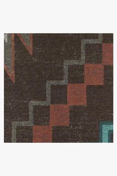 Dakotah Charcoal Rug – Ruggable Washable Area Rugs, Machine Washable Rugs, Triangle Pattern, Zig Zag Pattern, Textile Patterns, Textile Design, 5x7 Rugs, Color Tile, Instagram Shop