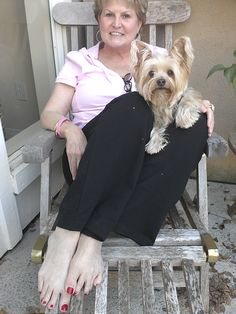 Rufus and Mommy!