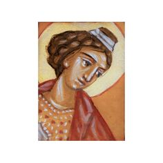 Miniature Traditional Byzantine style Icon by microuniverse, €20.00