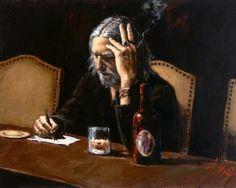 Fabian Perez, 1967 ~ Male painting