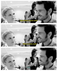 Jennifer and Colin... at their best.. #SDCC 2014