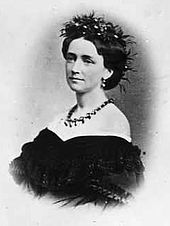 Louise of Hesse-Kassel wife of Christian IX of Denmark. Christian was born April 1818.