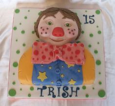 Mr Tumble / Clown Birthday Cake