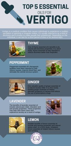 Top 5 Essential Oils for Vertigo Dizziness