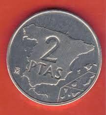 moneda de 2 pesetas