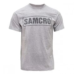 Sons of Anarchy SAMCRO T-Shirt [Grey]