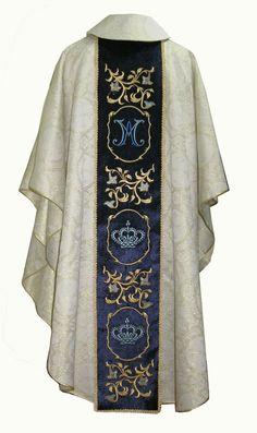 Textiles, Priest, Costume Design, Alexander Mcqueen Scarf, Catholic, Embroidery Designs, Kimono Top, Costumes, Architecture