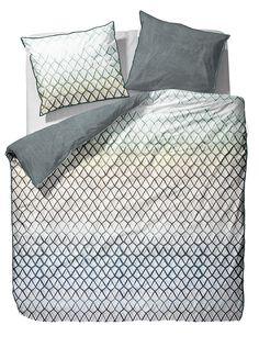 Artikeldetails: Gemusterte Bettwäsche, Wendebettwäsche, Mit Reißverschluss,  Material/ Qualität: Mako