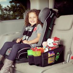 How I Keep my Minivan AKA the Rolling Toy Box Clean and Organized with Diono!