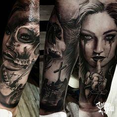 Tattoo You Brasil, considerado Estúdio referência na América Latina, administrado por @sergio_tattooyou. Tattoo feita pelo Junior Para consultas e agendamentos: Rua Tabapuã, 1.443 - Itaim - SP