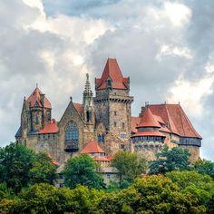 The Castle Kreuzenstein in Austria