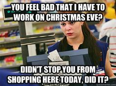 Customers on holidays