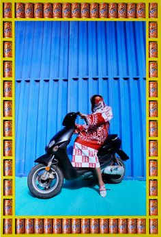 les inrocKs Style // Kesh Angels, les motardes voilées de Hassan Hajjaj – #inRocKsStyle