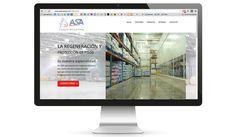 ASA MÉXICO: Diseño web.