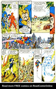 Crisis on Infinite Earths (1985) Issue #1 - Read Crisis on Infinite Earths (1985) Issue #1 comic online in high quality