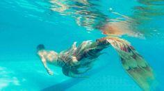 Mermaid Gifs, Mermaid Man, Mermaid Images, Fantasy Mermaids, Mermaids And Mermen, Fantasy Creatures, Mythical Creatures, Realistic Mermaid, Mermaid Cosplay