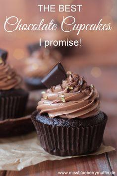 Das Rezept findet ihr bei mir auf dem Blog! Viel Spaß beim Backen! Best Chocolate Cupcakes, Muffin Cups, Foodblogger, Snacks, Easy Cake Recipes, Homemade, Desserts, Baking Cupcakes, Finger Food