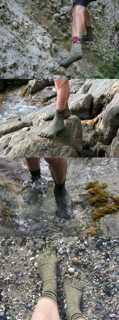 Носки, заменяющие обувь.