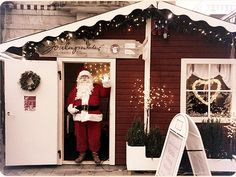 Visit Joulumaailma (Christmas World) next to Stockmann's department store and see the Santa Claus himself and other Christmas characters. Joulumaailma at the heart of Helsinki city center from 30th November to 22nd of December and again from 26th of December to 6th of January!