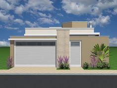 Best 12 Reggie' s modern wall – SkillOfKing. Home Design Decor, Bathroom Interior Design, House Design, Home Decor, Story House, My House, One Story Homes, Entrance Design, Facade House